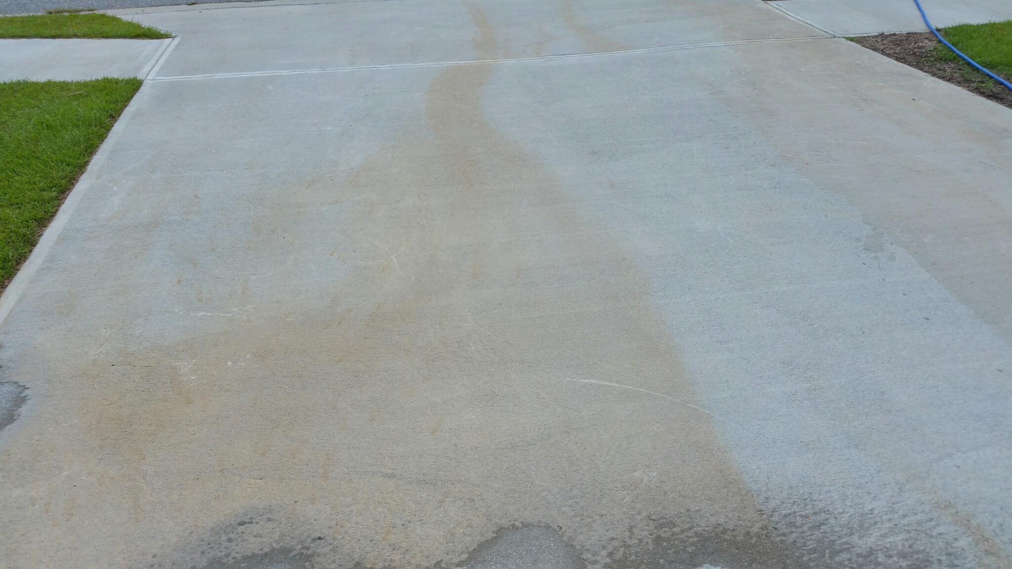 Removing Cement Patio How To Clean Cement Colored Residue